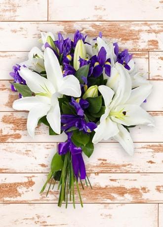 çerkezköy çiçek siparişi Lilyum Demet Buket